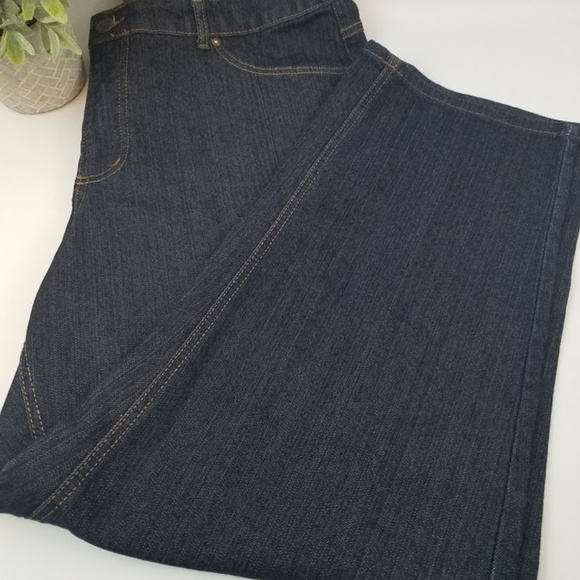 Just My Size Denim - 💥Just my Size dark denim short 24W Plus sz